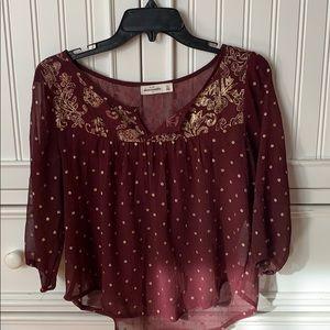 Abercrombie Flowy shirt